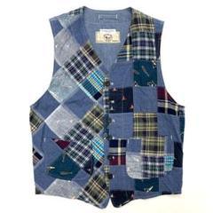 """Thumbnail of """"Engineered Garments BEAMS チェックパッチワークベスト"""""""