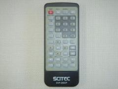 "Thumbnail of ""★ SCITEC ★ サイテック ★ DVP-250CP用リモコン★ 動作確認済"""