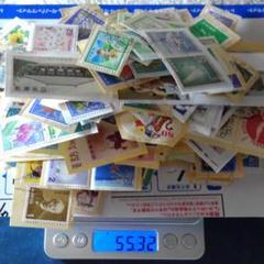 "Thumbnail of ""日本切手(使用済み)紙付き・たくさん!"""