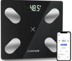 """Thumbnail of """"体重計 スマホ連動体組成計 体脂肪計Bluetooth薄型高精21項健康指標測定"""""""