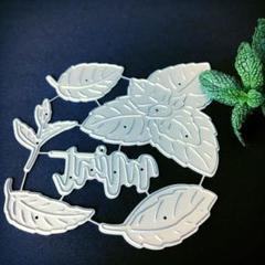 """Thumbnail of """"ミント ハーブ mint herb 植物 スクラップブッキング ダイ"""""""
