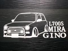 """Thumbnail of """"ミラジーノ 車体ステッカー ダイハツ L700S エアロ"""""""