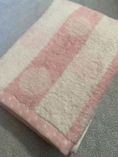 "Thumbnail of ""可愛いピンクドットバスタオル1枚"""
