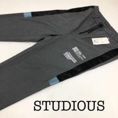 "Thumbnail of ""STUDIOUS  ステュディオス 未使用 サイドラインパンツ"""