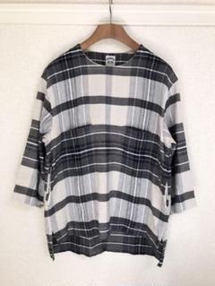 "Thumbnail of ""SUNSEA サンシー Check Odd-Sleeve Pullover"""