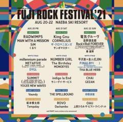 "Thumbnail of ""フジロック 前2日券+キャンプ券"""