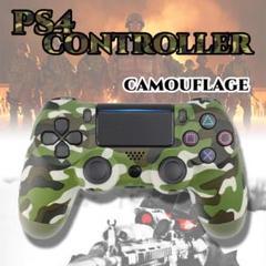 """Thumbnail of """"PS4コントローラー プレステ4 ジャイロセンサー グリーンカモフラージュ 互換"""""""