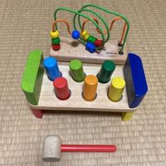 """Thumbnail of """"ボーネルンド PINTOYとんかちあそび 木製おもちゃセット"""""""