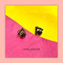 """Thumbnail of """"PAPILLONNER パピヨネ ビンテージビジューピアス"""""""