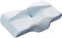"""Thumbnail of """"枕 安眠 肩がラク 低反発 、頭・肩をやさしく支える 低反発枕 仰向き"""""""