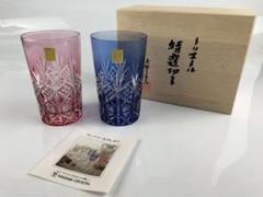 "Thumbnail of ""カガミクリスタル 特選切子グラス ペア"""