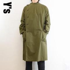 """Thumbnail of """"C5722 Y's ロングコート マオカラー ダブル カーキ 2 M"""""""
