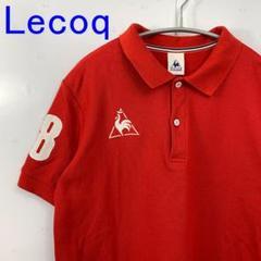"Thumbnail of ""美品 Lecoq ルコック ポロシャツ 赤 レッド M GOLF ゴルフウェア"""