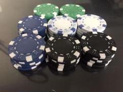"""Thumbnail of """"カジノチップ 4色×10枚 ポーカー"""""""