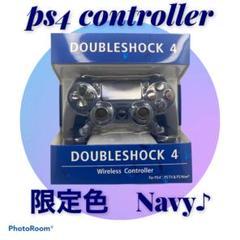 """Thumbnail of """"【互換品】PS4 コントローラー ネイビー"""""""