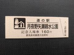 """Thumbnail of """"道の駅きっぷ(ピンク券版) 月夜野矢瀬親水公園"""""""