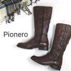 """Thumbnail of """"Pionero ピオネロ レザーロングブーツ ブラウン 24.5㎝"""""""