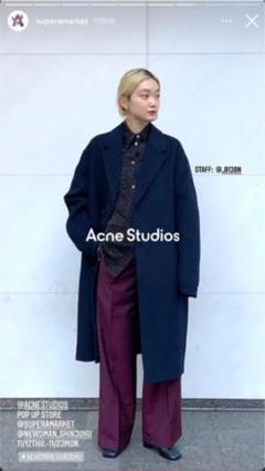 "Thumbnail of ""【2021SALE】 acne studios(pants)"""