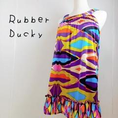 """Thumbnail of """"Rubber Ducky ラバーダッキー ミニワンピース サイズS カラフル"""""""