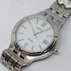 "Thumbnail of ""【正規稼働美品】セイコー V157-0AA0 ソーラー メンズ 腕時計"""