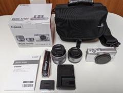 """Thumbnail of """"Canon ミラーレス一眼カメラ ダブルレンズキットEOSM100-WLK"""""""