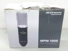 "Thumbnail of ""4 K3 marantz マランツプロ コンデンサーマイク MPM-1000"""