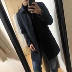 "Thumbnail of ""ナノユニバース  ステンカラーコート ネイビー S"""