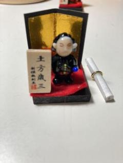 "Thumbnail of ""土方歳三 ガラス細工"""
