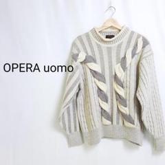 "Thumbnail of ""OPERA uomo 日本製 セーター ニット アンゴラ アルパカ 高級感"""