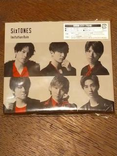 "Thumbnail of ""sixtones cd imitation rain  初回限定盤"""