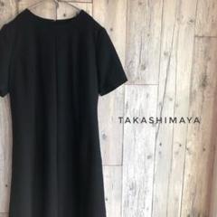 "Thumbnail of ""Takashimaya 高島屋 フォーマル ワンピース 礼服 喪服 ブラック 黒"""