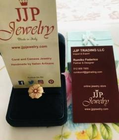 "Thumbnail of ""JJP JEWELRY カメオリング イタリア製 『お値下げ中!』"""