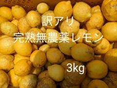 """Thumbnail of """"訳アリ完熟無農薬レモン3kg"""""""