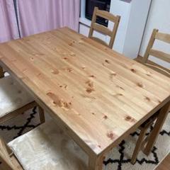 """Thumbnail of """"IKEA ダイニングテーブル 椅子セット ※引き取りに来れる方限定"""""""