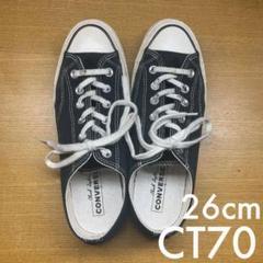 """Thumbnail of """"CT70 チャックテイラー ブラック UK7.5 26cm〜26.5cm"""""""
