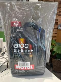 "Thumbnail of ""新品  正規品 MOTUL モチュール8100X-CleanC3 5W40 5L"""