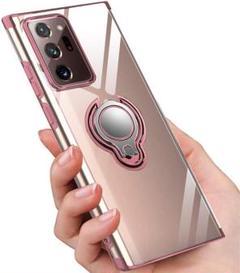"Thumbnail of ""Galaxy Note20 Ultra ケース リング クリア TPU ローズ"""
