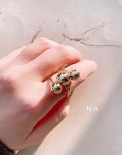 "Thumbnail of ""【リング】select ringメタルボールゴールドリング"""