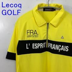 """Thumbnail of """"美品 Lecoq ルコック ゴルフウェア ポロシャツ フランス 黄色L golf"""""""