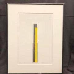 "Thumbnail of ""高北幸矢インスタレーション 版画 作品MONUMENT 1989"""