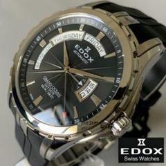 "Thumbnail of ""【新品】 エドックス EDOX グランドオーシャン ブラック盤色 メンズ腕時計"""