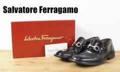 "Thumbnail of ""C6056 Salvatore Ferragamo ガンチーニ ローファー 黒"""