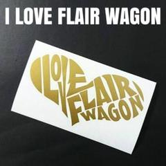 "Thumbnail of ""お薦め人気商品‼️【I LOVE FLAIR WAGON】カッティングステッカー"""