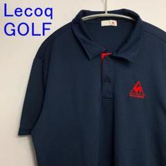 """Thumbnail of """"美品 Lecoq ルコック ゴルフウェア ポロシャツ golf ネイビー紺 O"""""""