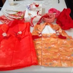 "Thumbnail of ""七五三羽織2  かんざし色々 着物の付属品 巾着 長襦袢 赤い刺繍の半襟"""
