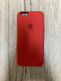 """Thumbnail of """"Apple純正 iPhone6s シリコンケース(赤)"""""""