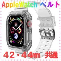 "Thumbnail of ""Apple Watch ベルト 透明 韓国雑貨 クリアバンド 42-44"""