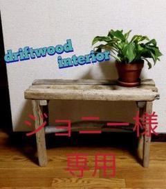 """Thumbnail of """"流木 椅子 長椅子 腰掛け スツール インテリア 西海岸 飾り台 観葉植物"""""""