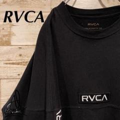 "Thumbnail of ""《ボックスロゴ》RVCA ルーカ ロンティー L☆ブラック 黒 刺繍ロゴ"""