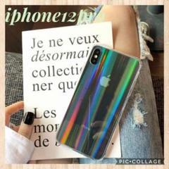 "Thumbnail of ""iphone12pro ケース クリア レインボー キラキラ 韓国"""